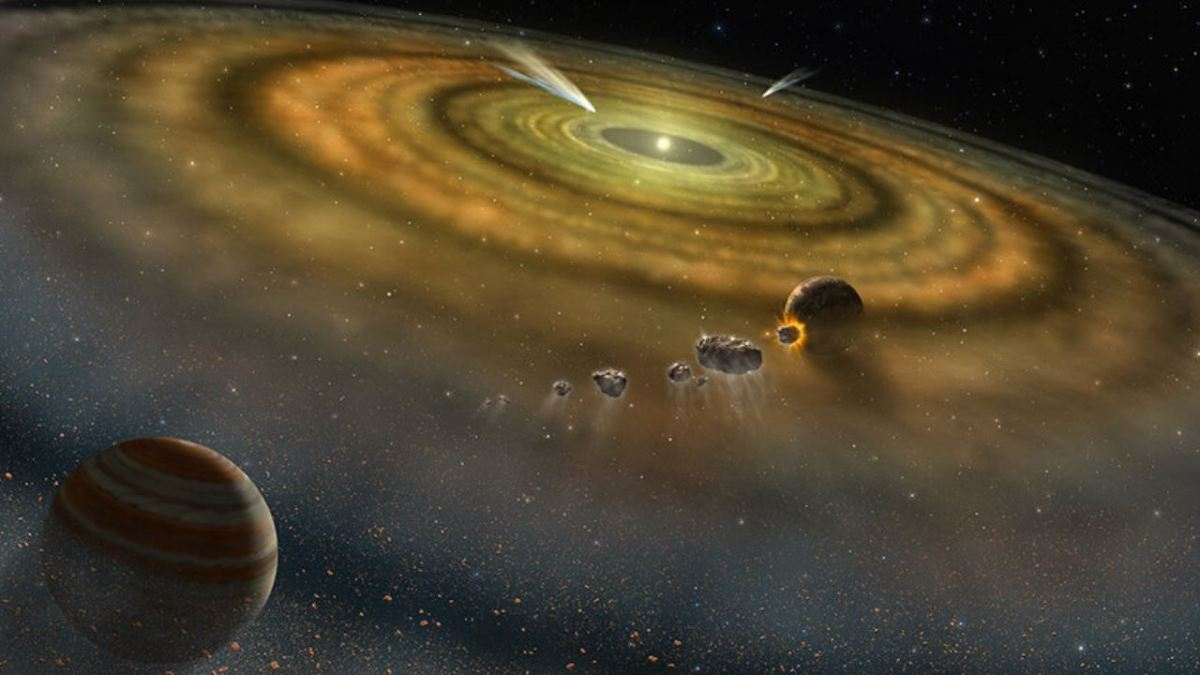 Primo sistema solare formatosi in soli 200.000 anni secondo un nuovo studio