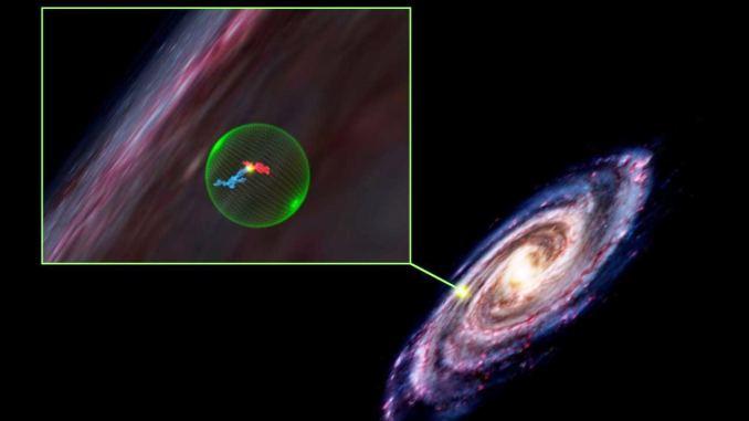 Enorme cavità sferica di 500 anni luce scoperta nella Via Lattea