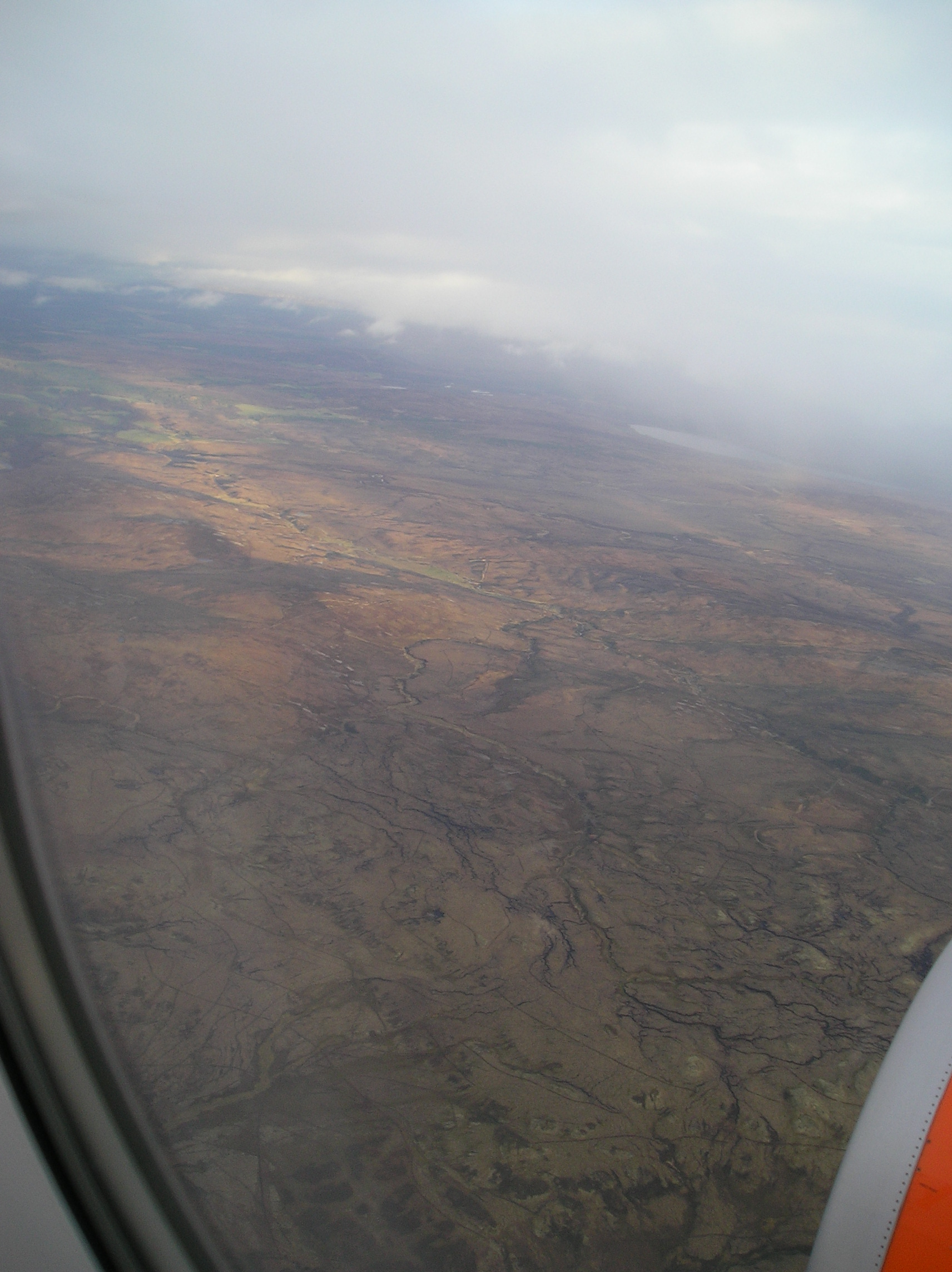 first view of the Scottish Highlands