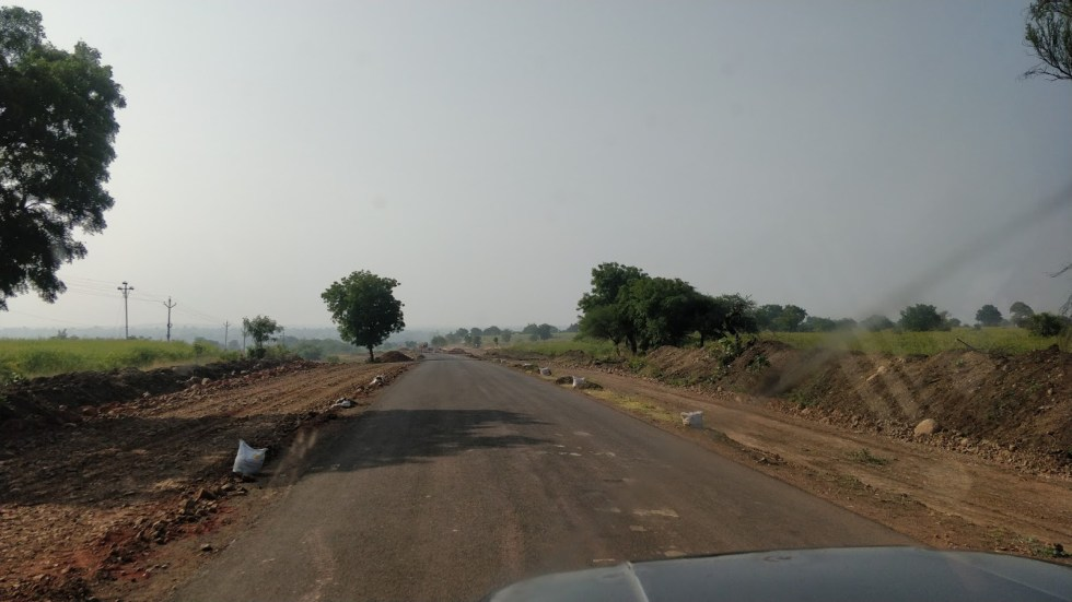 Jeep ride from Sultanpur to Lonar