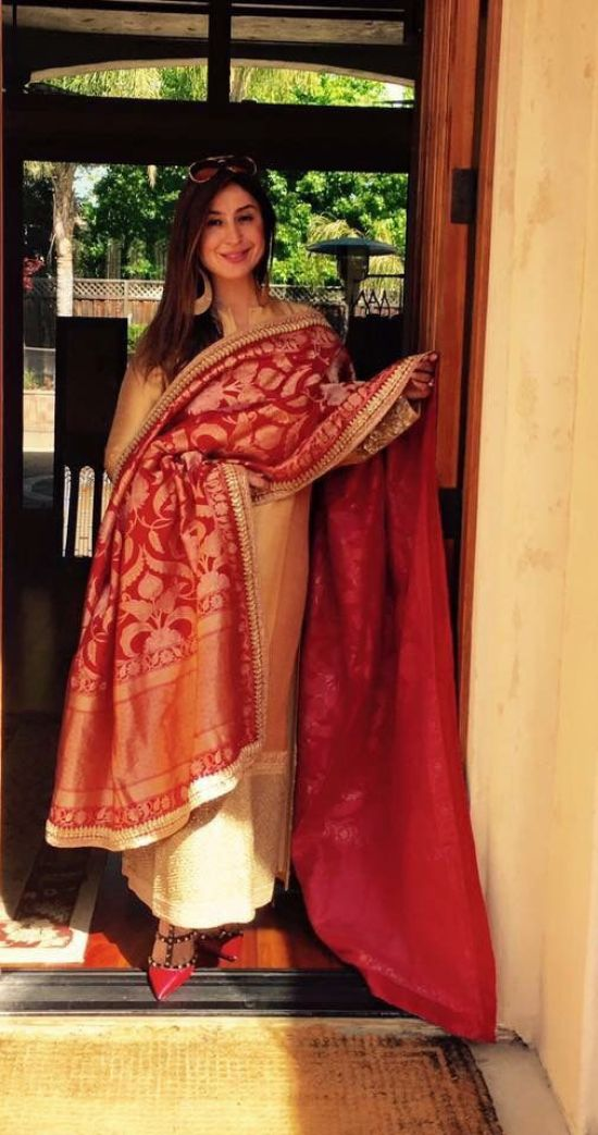red_royal_dupatta_banarasi