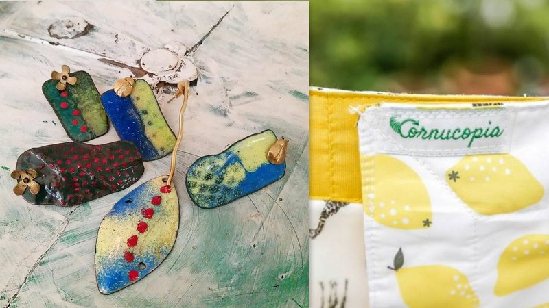 Create keepsakes from old clothes and jewellery