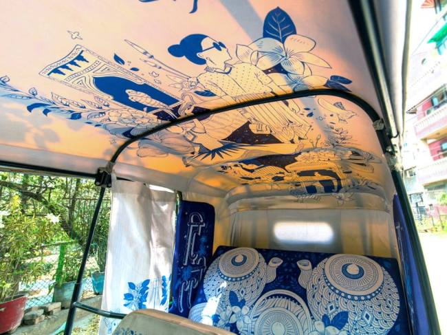 dill haat, designer, taxi fabric, illustration, artist, india, culture