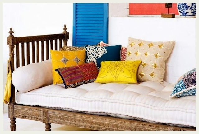 Charpai - a perfect day bed via