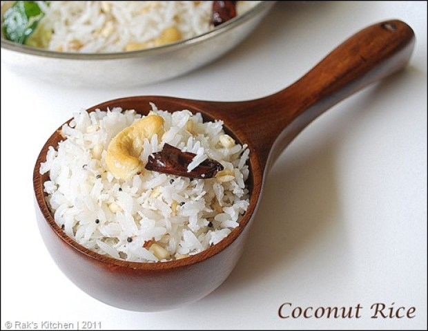 Thenga Sadam aka Coconut Rice..rather nice...via