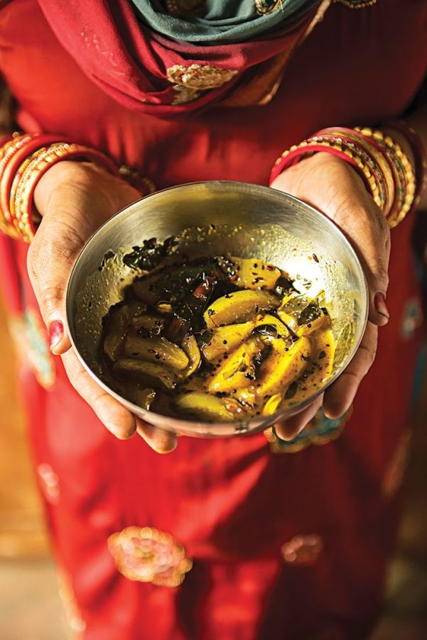 Sweet and sour mango pickle...the rajasthani way via