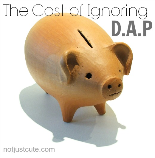 The Cost of Ignoring DAP