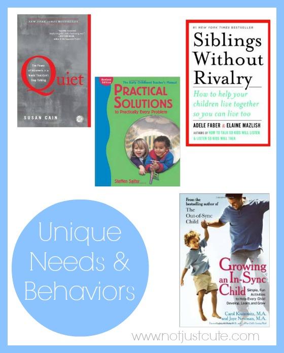 Unique Needs and Behaviors