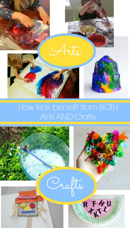 The Benefits Of Arts And Crafts Yes Both For Kids