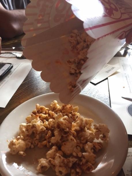Duck fat popcorn