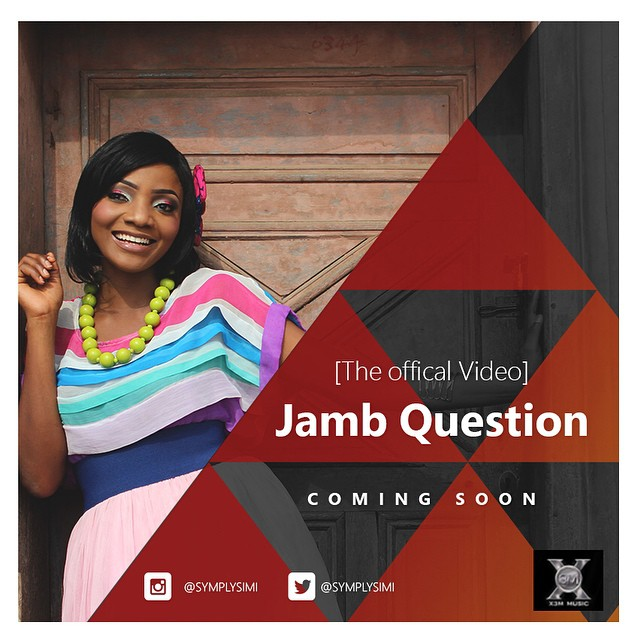 VIDEO: Simi - Jamb Question