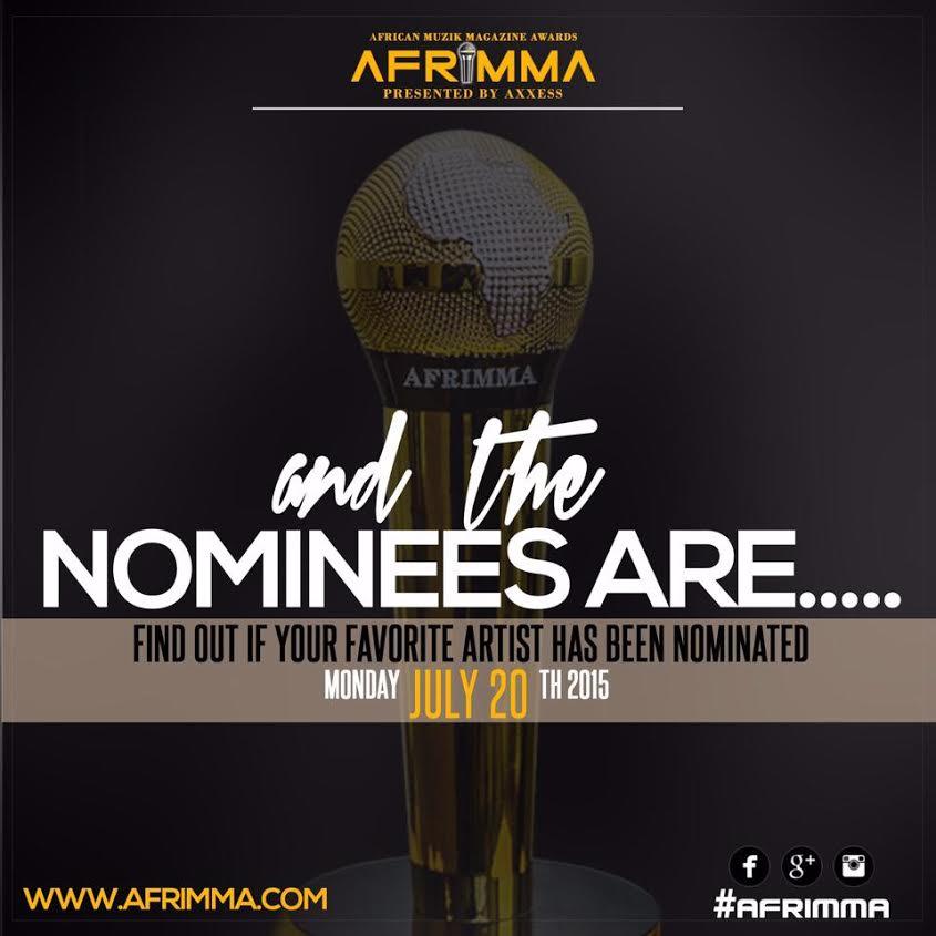 2015 AFRIMMA NOMINEES
