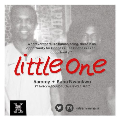 "Sammy Teams Up with Kanu Nwankwo on ""Little One"""