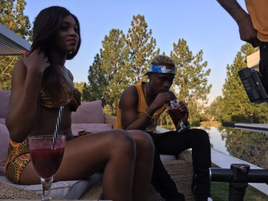 """Dotman Shoots Video For """"My Woman"""" 
