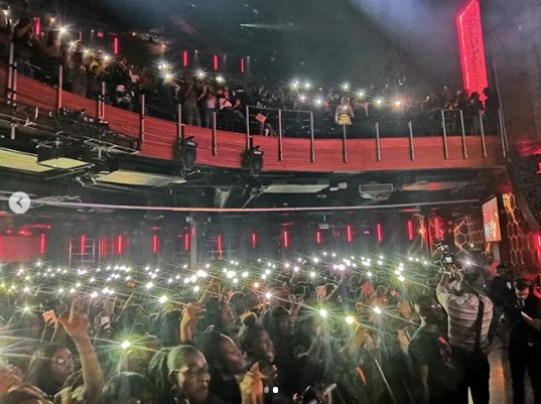 Wande Coal Thrills Fans With Live Performance At Indigo at the O2, UK