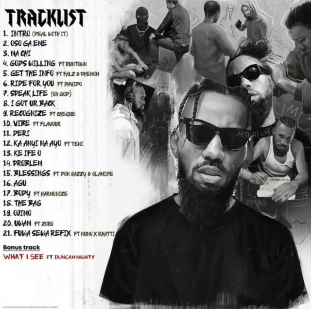 Phyno 'Deal With It' Album Tracklist