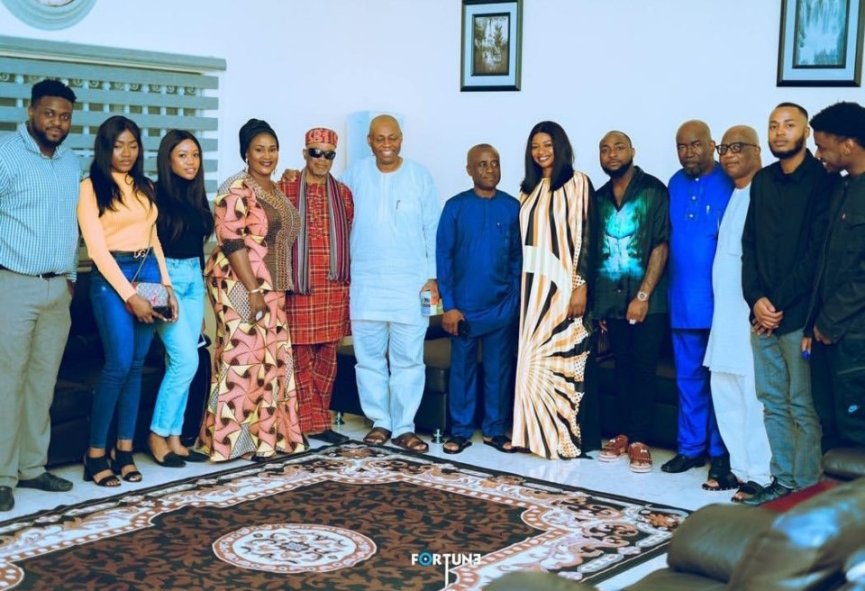 Davido And Chioma's Introduction