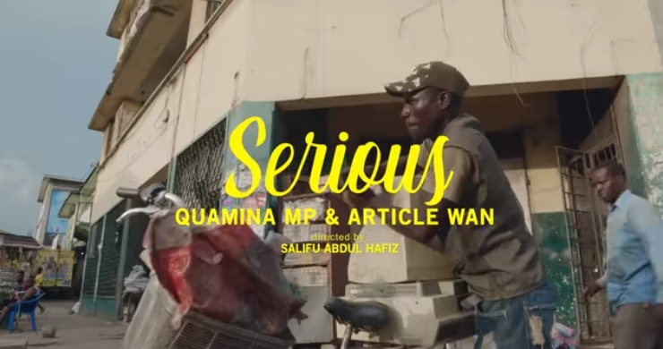 VIDEO: Fuse ODG ft. Quamina MP & Article Wan - Serious