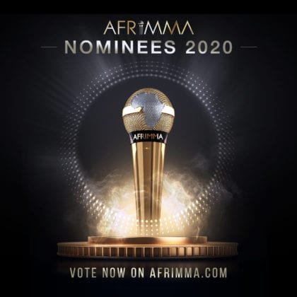 The AFRIMMA Virtual Awards 2020 Nominees List