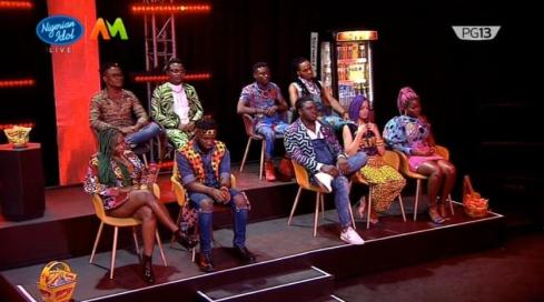 Nigerian Idol: Clinton Exits The Competition as top 8 Emerge   NotjustOK