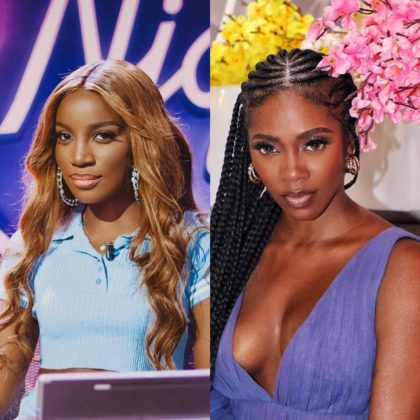 """Tiwa Savage Stole """"Lova Lova"""" from Me - Listen to Seyi Shay's Side of the Story"""