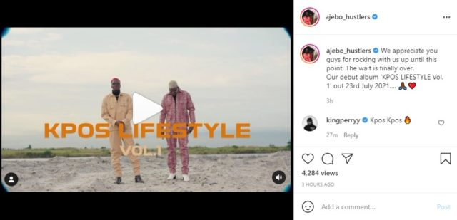 Ajebo Hustlers Unveils Title and Release Date For Debut Album
