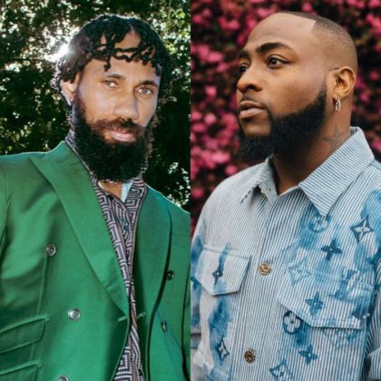 Davido and Phyno Attend Obi Cubana Mother's Burial in Oba Anambra