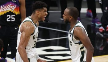Giannis Antetokounmpo is one win Away From First-Ever NBA title