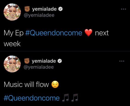 Yemi Alade New EP