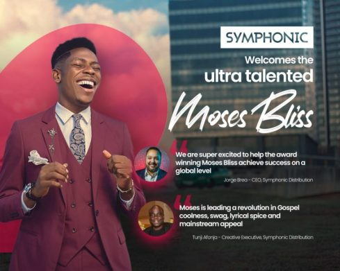 Gospel Act, Moses Bliss and Symphonic Sign Global Distribution Deal