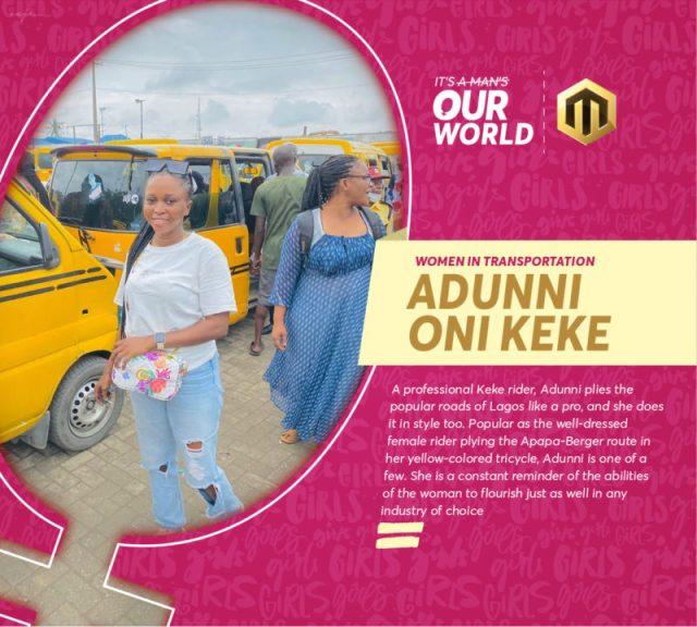 Adunni Oni Keke Equality Day