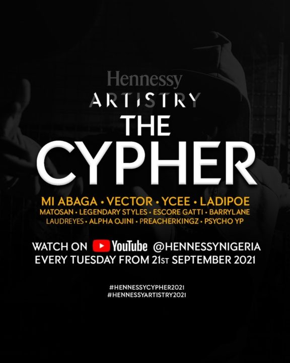 Hennessy Cyphers 2021