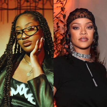 Tems Links up with Rihanna at Fenty Event in New York Watch Video NotjustOK