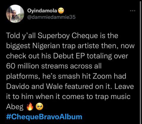 Superboy Cheque Bravo Album