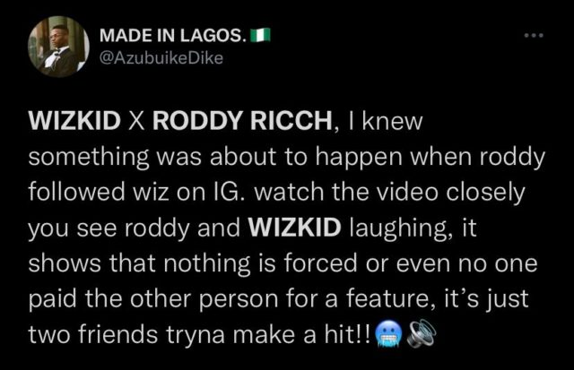 Roddy Ricch Makes Appearance in New Wizkid Video Watch Reactions