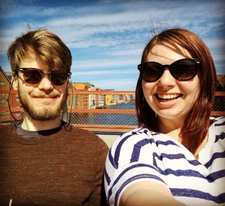 Sol i Trondheim