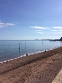 Teignmouth beach