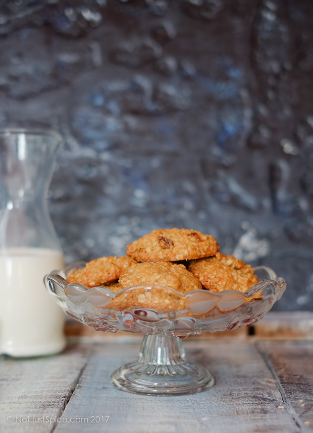 Oatmeal Raisin Cookies | Rise and Shine Breakfast Cookies