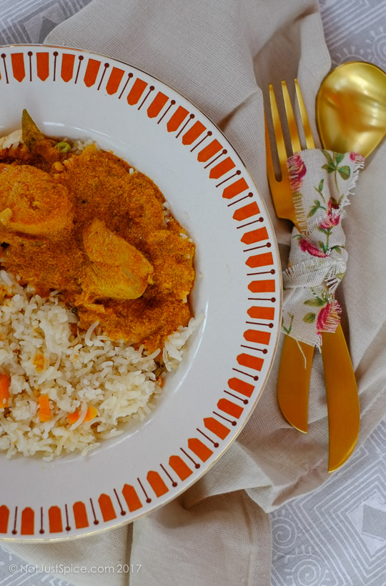 The real quick and easy chicken curry on notjustspice.com