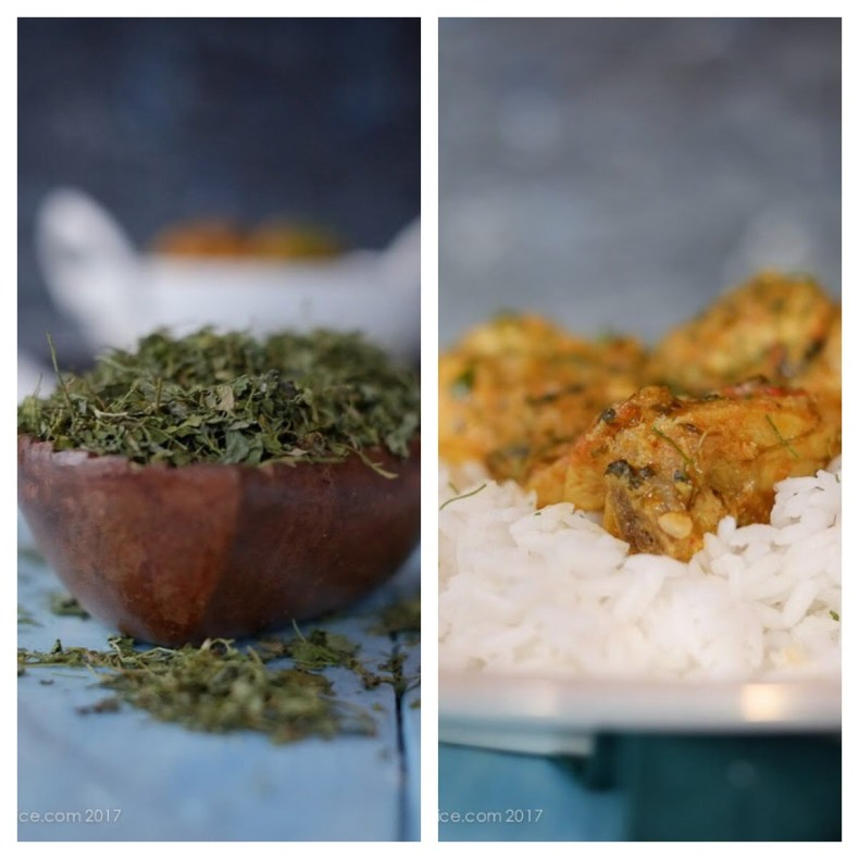 Methi Chicken | Chicken with Dried Fenugreek Leaves