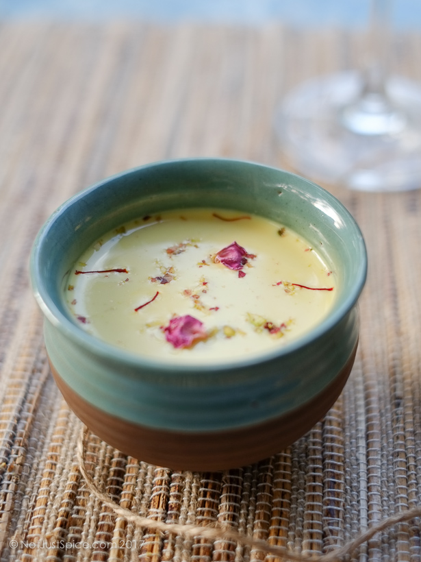 Super Refreshing Thandai on notjustspice.com