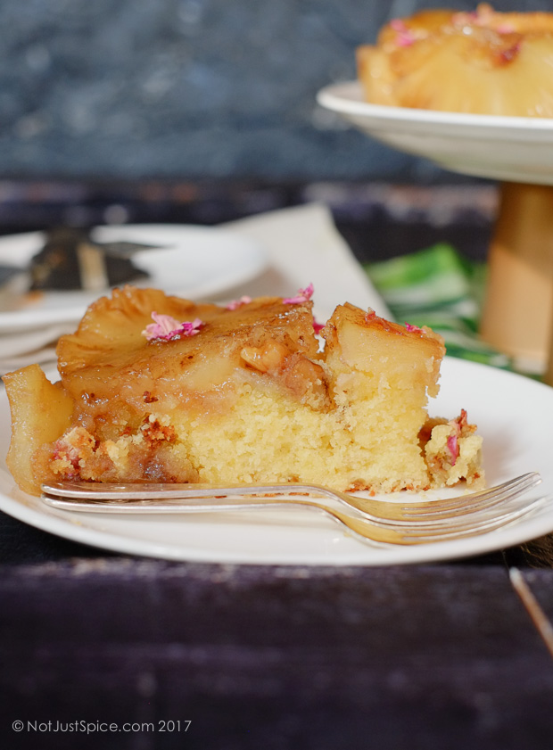 Pineapple Upside Down Cake on notjustspice.com