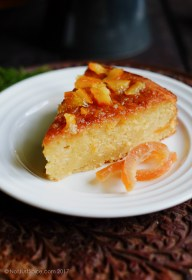 Sticky Orange Marmalade Cake on notjustspice.com