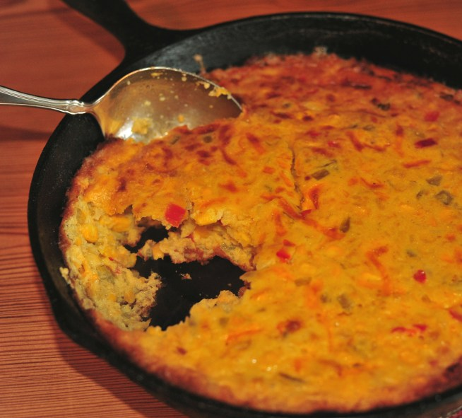 southwest corn pudding 2
