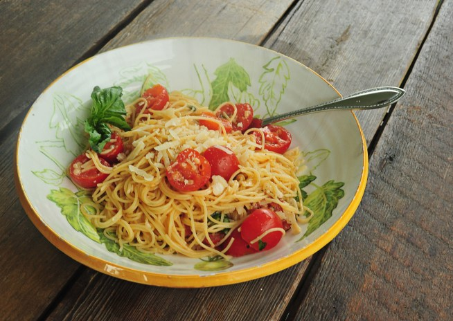 summer garden pasta 2