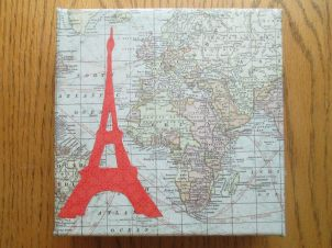 Eiffel Tower and the world! on 6x6