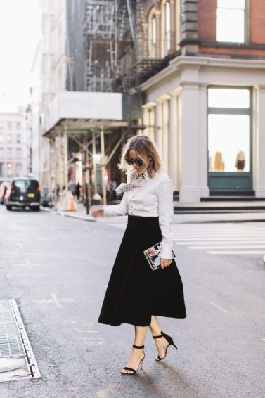 Jacey Duprie NYFW Skirt