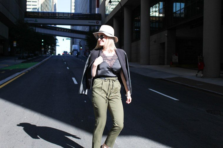 black_lace_blouse_army_green-pants_tan_hat_nnb-1