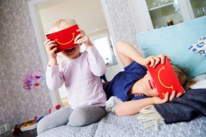 McDonalds Sweden is making Happy Meal Virtual Reality Goggles