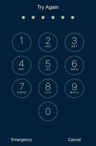 Encrypted-iPhone-Passcode